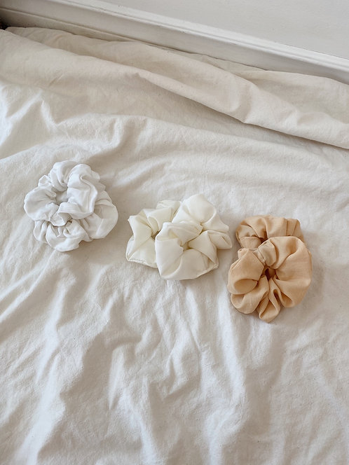 Vintage Fabric Scrunchies