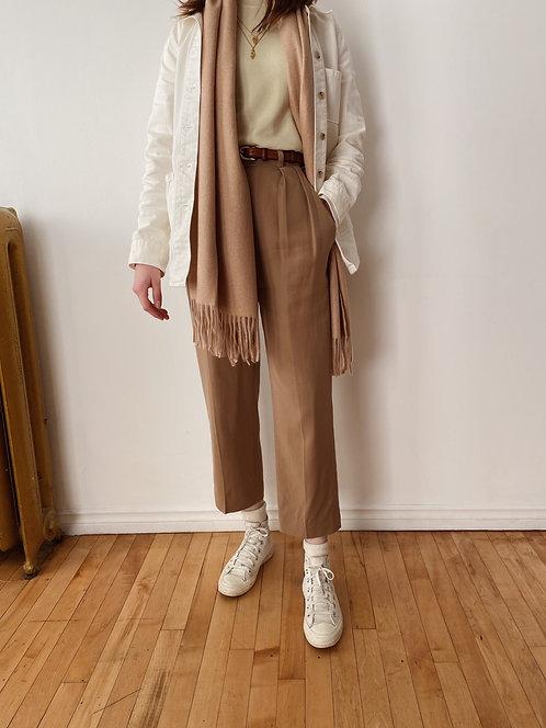 Classic Wool Blend Scarf