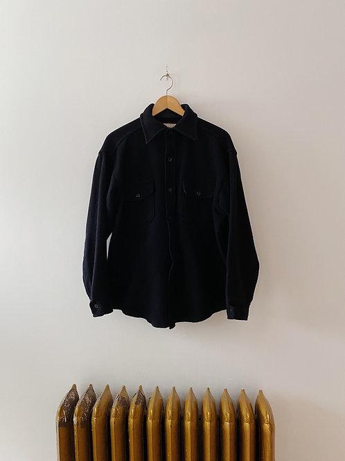 Dark Navy Flannel Shirt | M/L