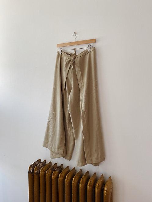 Pale Green Cub Wrap Pants