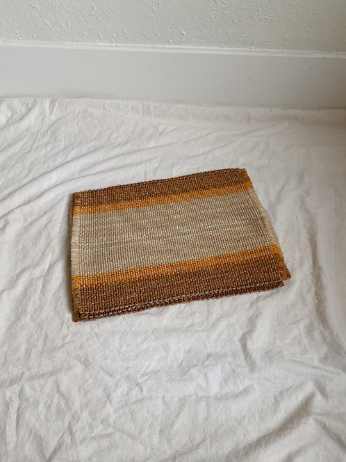 Striped Woven Placemat Set