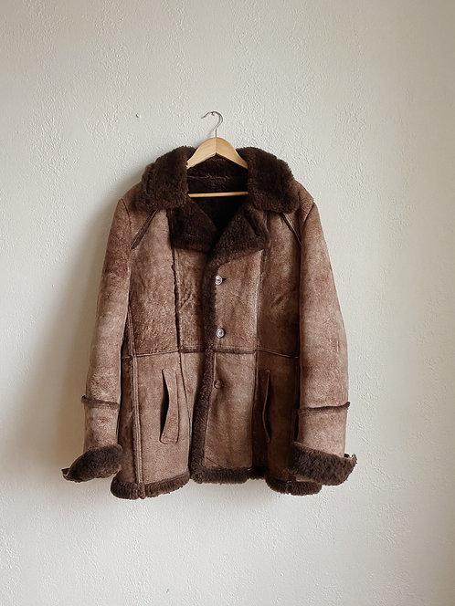 Brown Sheepskin Jacket | L