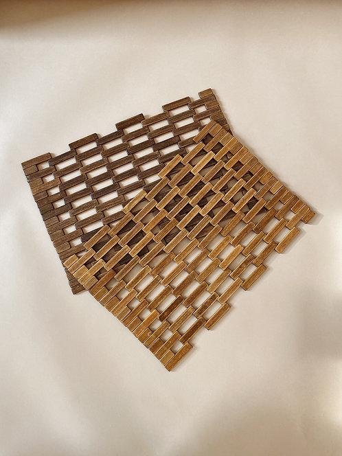 Wooden Placemat Set