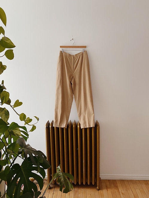 Sand Wool Trousers   32