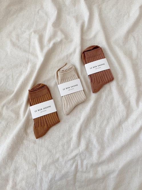 Le Bon Shoppe Mercerized Cotton Sock