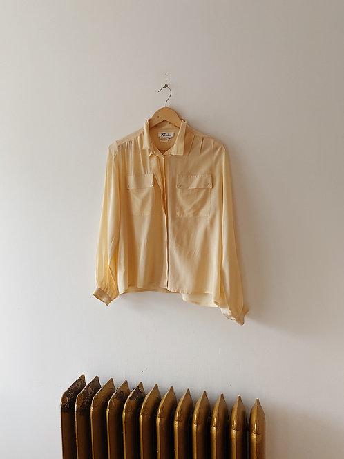 Buttercup Silk Blouse | M