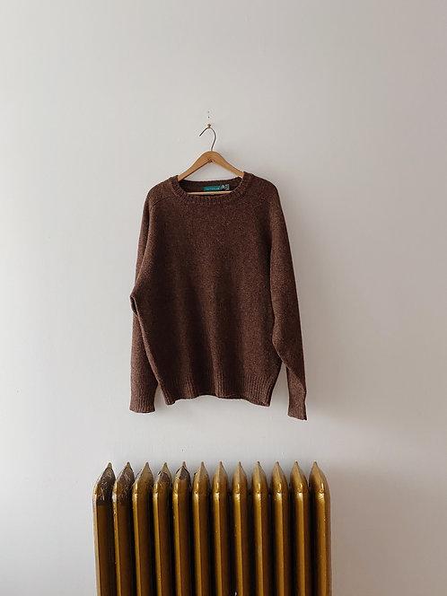 Auburn Wool Sweater | XL