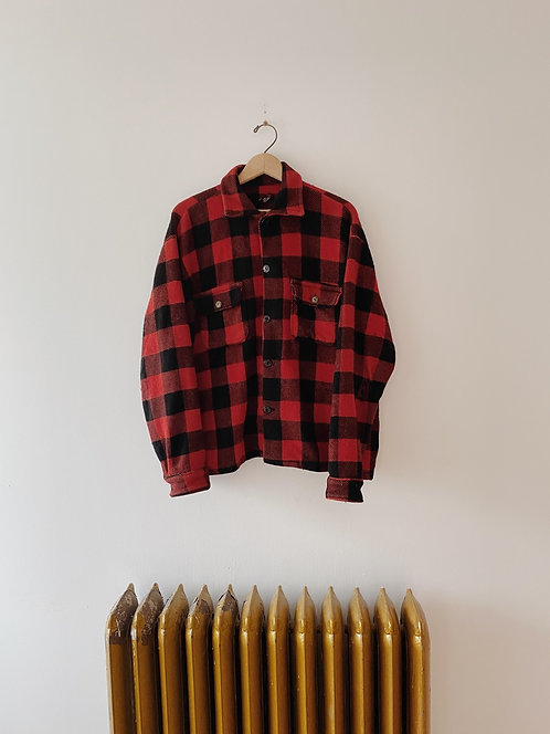 Buffalo Plaid Jacket   M/L