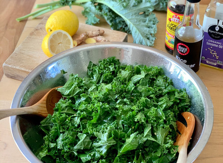Irresistible, Family-Friendly Kale Salad