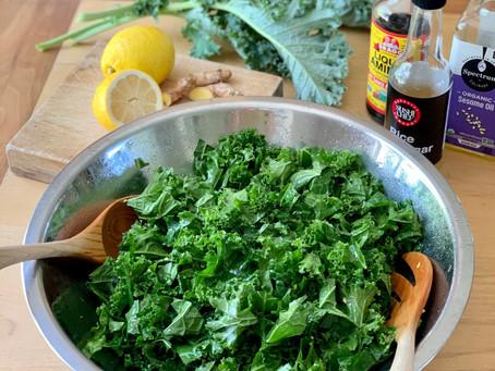 Irresistible, Family-Friendly Kale Salad