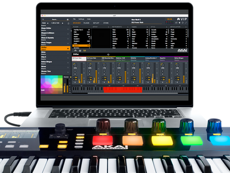 Akai Advance Keyboards & VIP Software