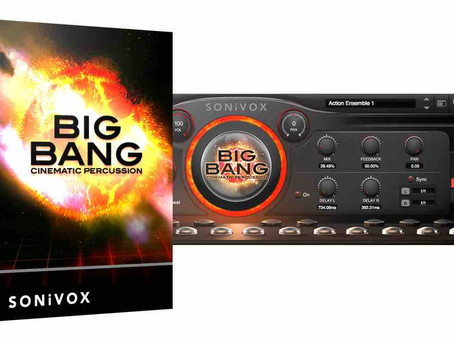 Big Bang Percussion - Percussion Library for Film Composers