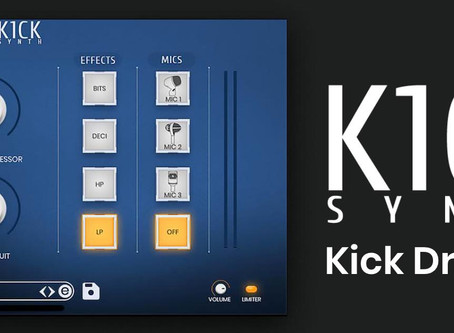 K1CK Synth - Electronic Kick Drum Instrument