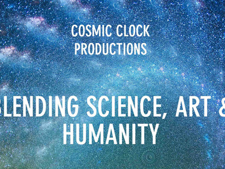 Cosmic Clock Art+Science+Humanity