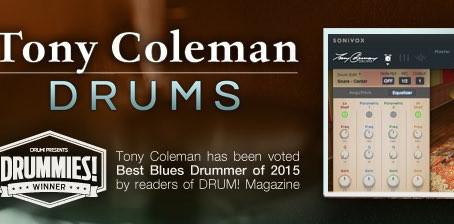 Tony Coleman Drums - Virtual Drummer