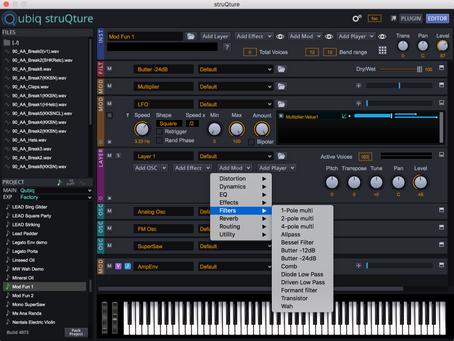 Qubiq Audio's struQture Audio Platform
