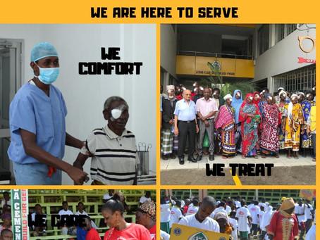 Happy Customer Service Week 2020! At Lions Medical Eye & Laser Centre, We Treat, Care & Comfort!