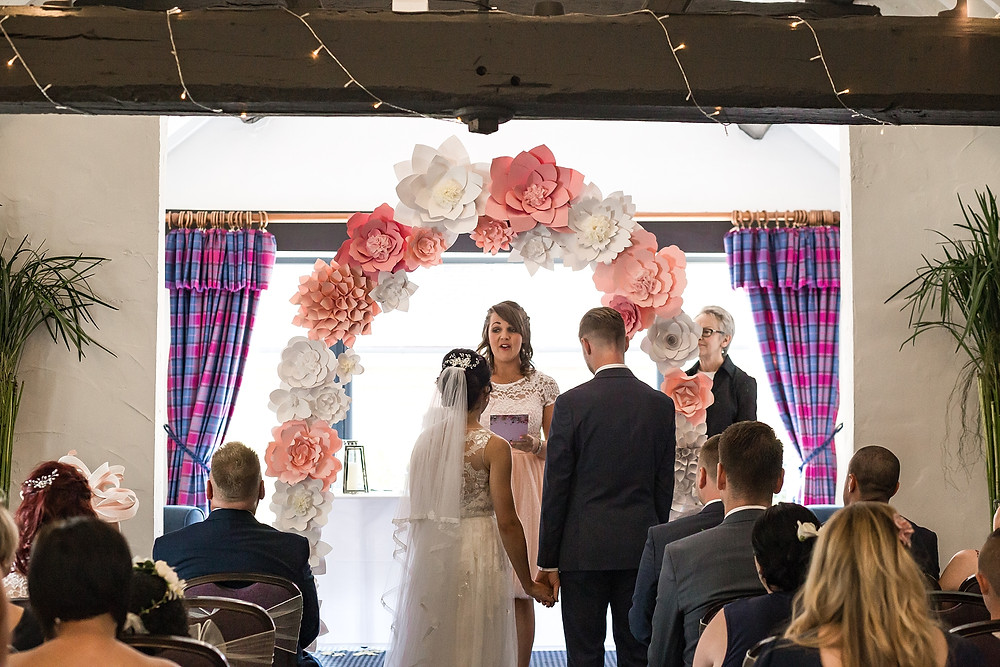 Wedding ceremony at Windmill Village Hotel Coventry