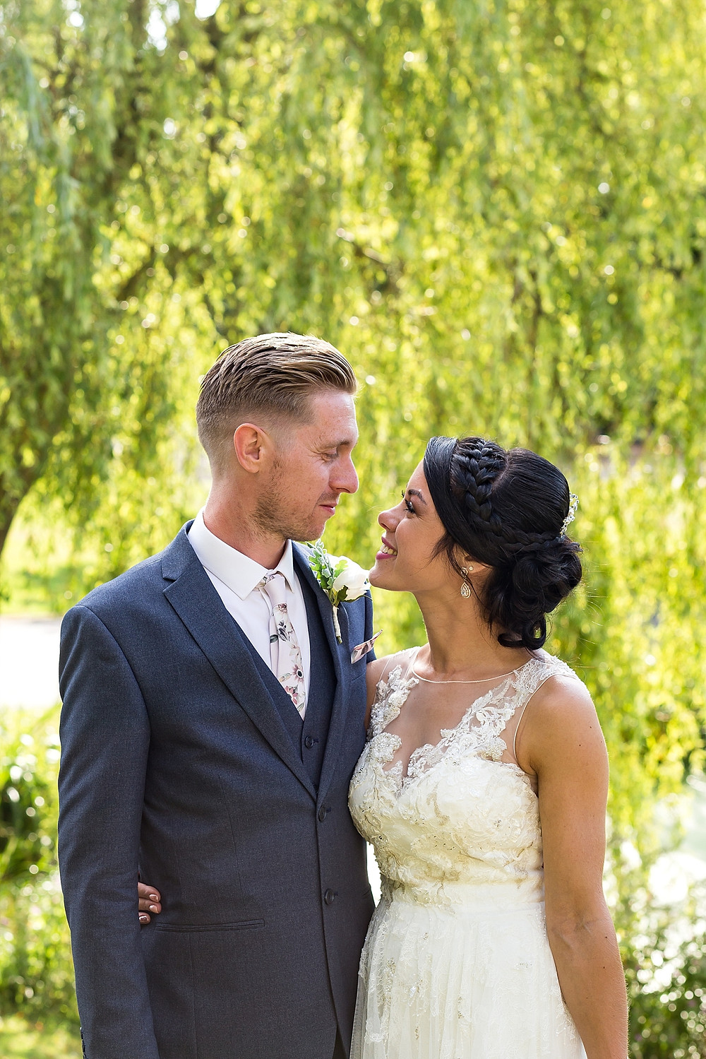 Bride & Groom at Windmill Village Hotel Coventry