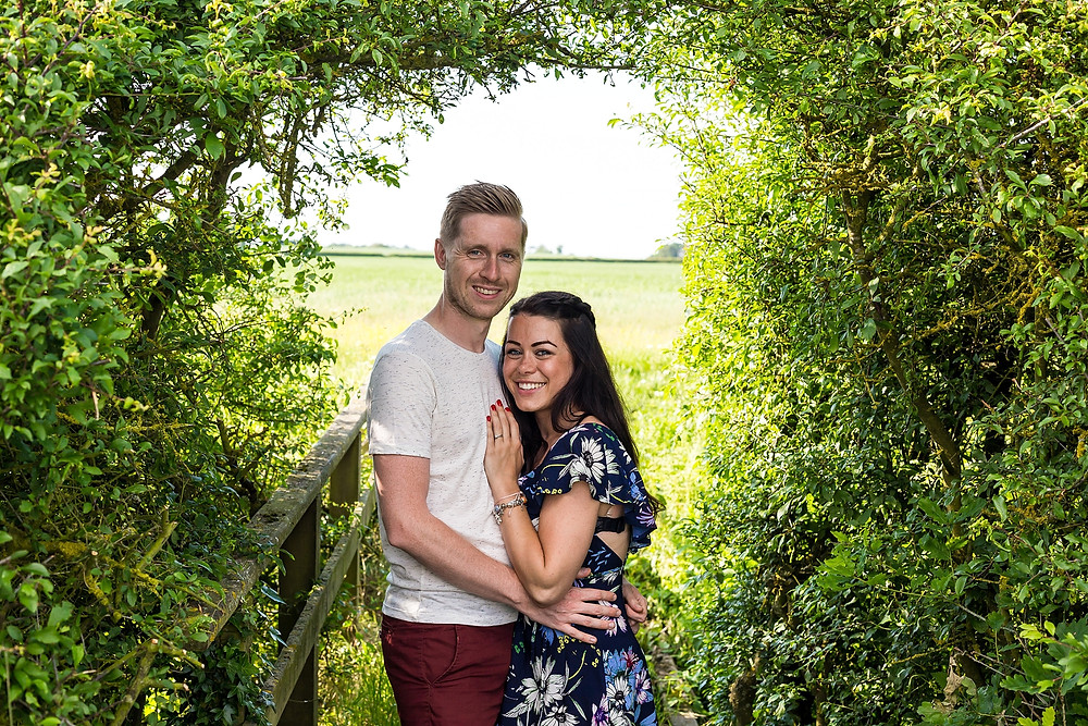 Warwickshire engagement shoot
