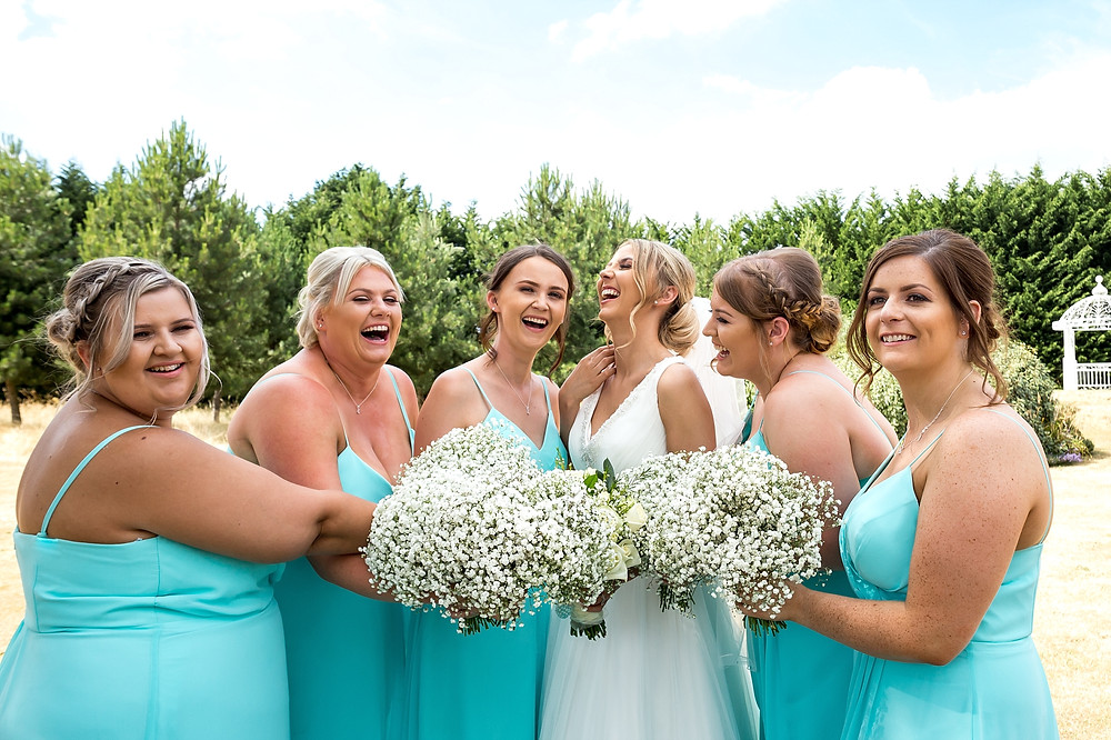 Bridesmaids at Draycote Hotel wedding