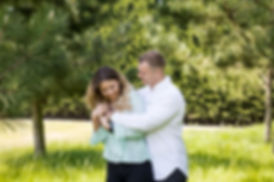 Natural Relaxed Engagement Photography
