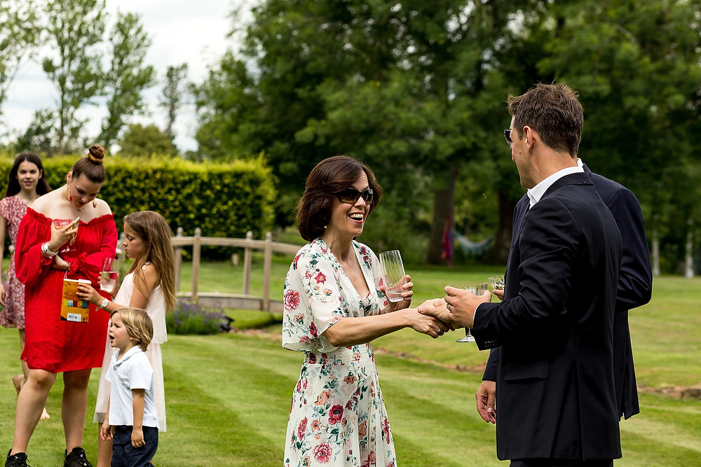 Summer wedding in the Cotswolds