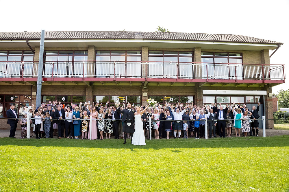 Wedding at Rugby Lions RFC - Amy Bennett Photography