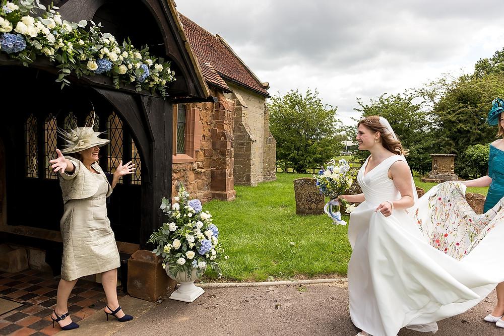 Ceremony at Warwick House wedding