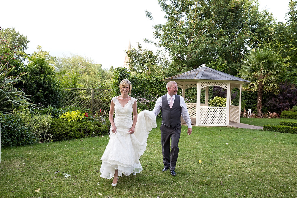 Bride and Groom at Warwick House