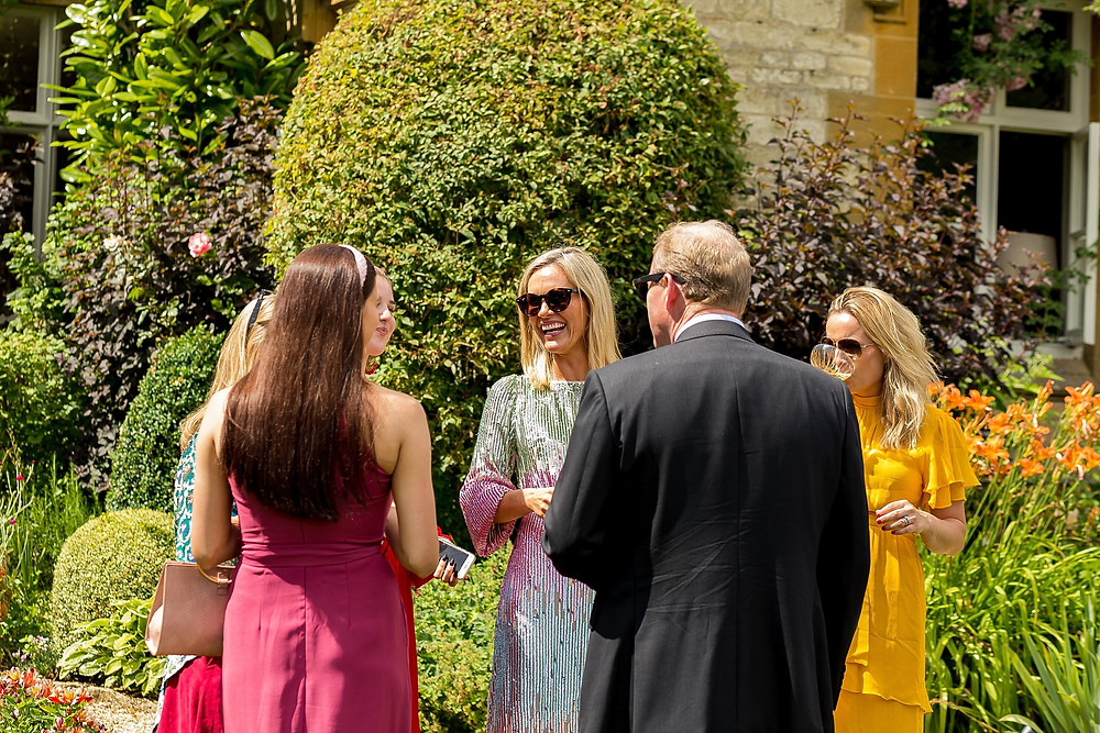 Cotswolds garden party wedding