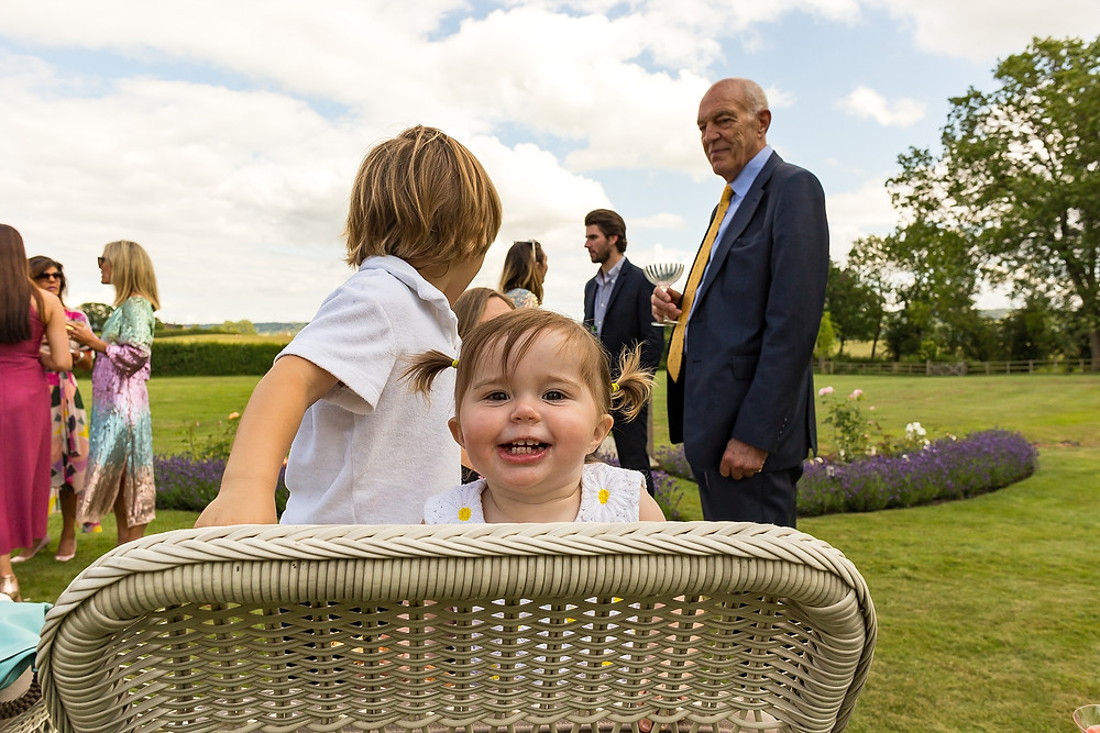 Outdoor wedding in The Cotswolds