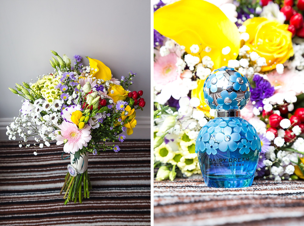 Bright and colourful summer wedding flowers