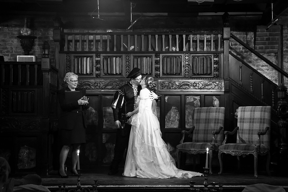 Mediaeval wedding at Coombe Abbey Hotel