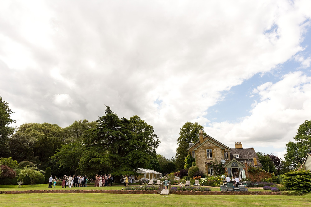 Wedding at The Old Rectory, Cotswolds