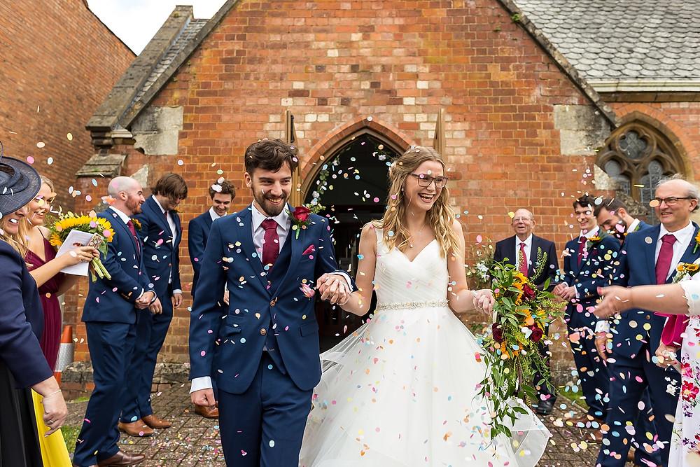 Ceremony at Dodmoor House wedding