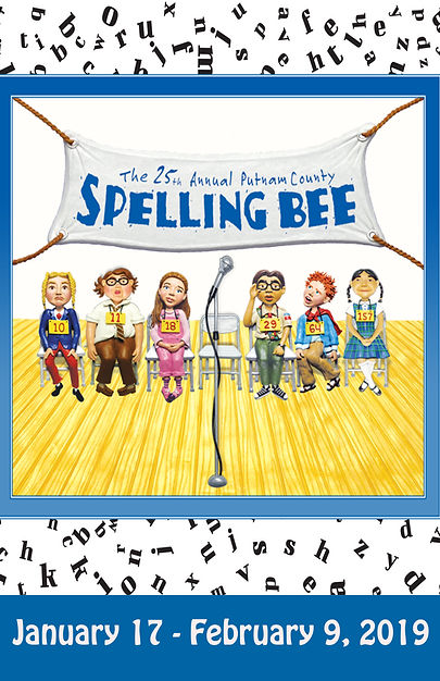 25th Annual Spelling Bee Show Poster 2.j