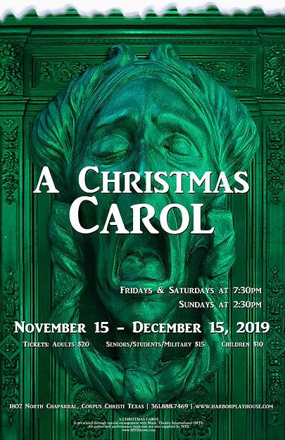 A Christmas Carol Show Poster 2019 for p