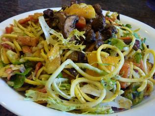 Enjoy Guilt-Free Spaghetti in This Squashy Salad