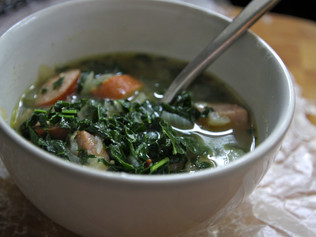 Don't Be Afraid to Let Kale Take Center Focus With This Easy Soup