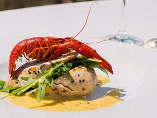 Paleo-Friendly Stuffed Lobster