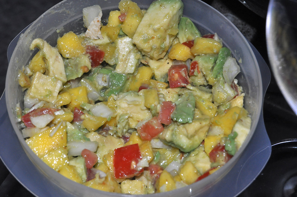 Best mango avocado salad recipe