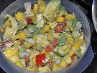 Taste the Freshness and Heat of Summer Year-Round With a Mango and Avocado Salad