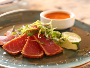 Does This Beef Carpaccio Smell Fishy? That's Because It's Made With Tuna