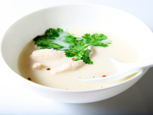 Easy-Made Thai Chicken Soup to Cure the Wintry Soul