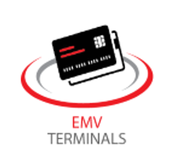 EMV terminals programmed to accept chip cards. Perfect for retail locations.