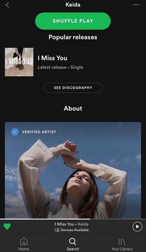 Spotify Distribution & Verification