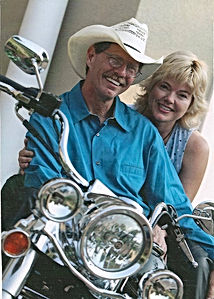 Dave and Angela on Road King.jpg