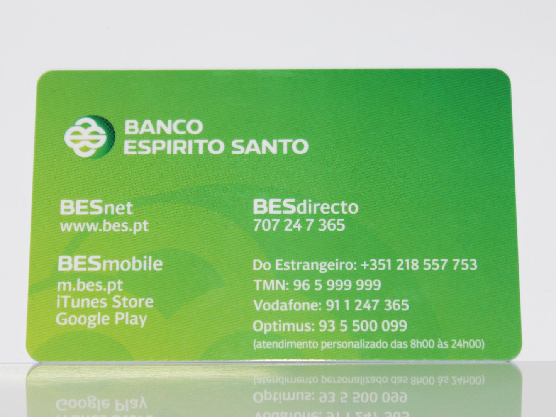 Cartao de Plastico BES.JPG
