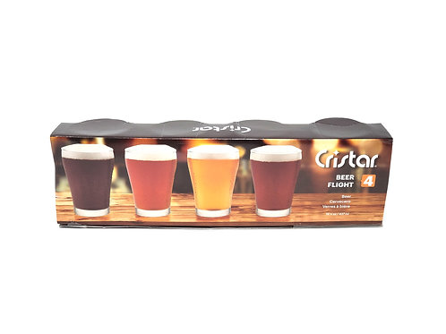GB POPULAR Beer Flight Set   Item # 2860CL4